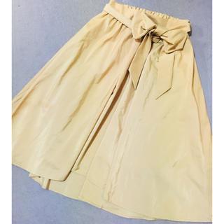 トッコ(tocco)のイエロースカート(ひざ丈スカート)