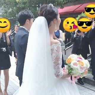 ヴェラウォン(Vera Wang)の【超美品】ウェディングベール ミドル(ヘッドドレス/ドレス)