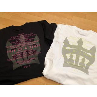 ロデオクラウンズワイドボウル(RODEO CROWNS WIDE BOWL)のロデオクラウンズ ワイドボウル 限定 TRIP T ホワイト M(Tシャツ(半袖/袖なし))
