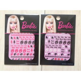 バービー(Barbie)のバービー ネイルシール(ネイル用品)