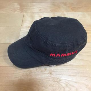 マムート(Mammut)のMAMMUT ワークキャップタイプ ブラック(登山用品)