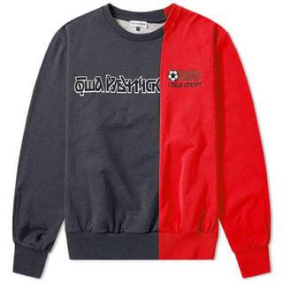 コムデギャルソン(COMME des GARCONS)のGosha Rubchinskiy combo logo sweatshirt (スウェット)