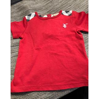 バーバリー(BURBERRY)の[新品]バーバリー Tシャツ 80センチ(Tシャツ)