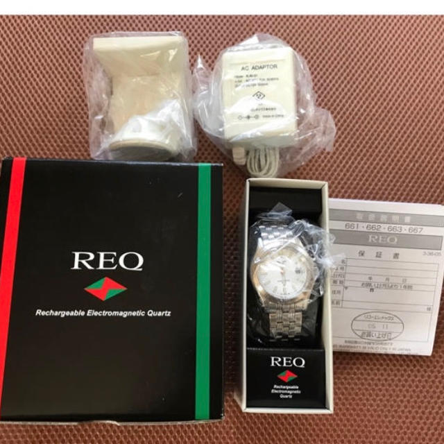 RICOH - 【新品・未使用】リコー REQ 腕時計 メンズ★充電の通販 by mint's shop|リコーならラクマ