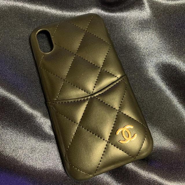 アイフォン 11 ProMax カバー ルイヴィトン | CHANEL - iPhone x xsケース♡ブラックの通販 by CHOUCHOU's shop|シャネルならラクマ