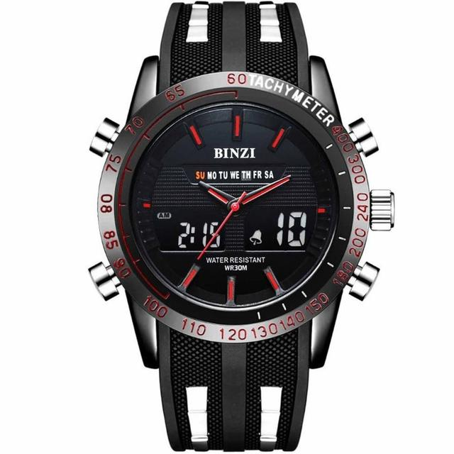 時計 レディース ロレックス | 【新品未使用】BINZI メンズ腕時計 ミリタリー 防水 ブラックの通販 by ノリ's shop|ラクマ