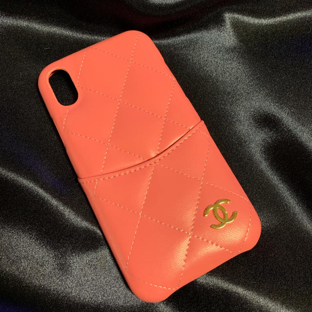 CHANEL - 新品未使用♡iPhone ケース iPhone x xs ピンクの通販 by CHOUCHOU's shop|シャネルならラクマ
