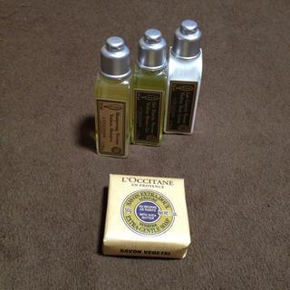 ロクシタン(L'OCCITANE)の値下げ 新品未使用 ロクシタン トラベルセット(バスグッズ)