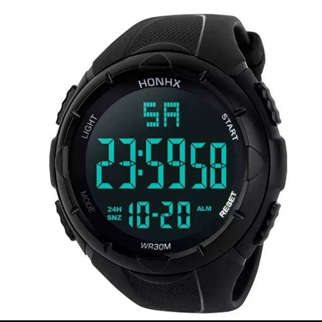オメガトライブなっちん 、 HONHX スポーツウォッチ 腕時計 ダイバーズウォッチの通販 by uv|ラクマ