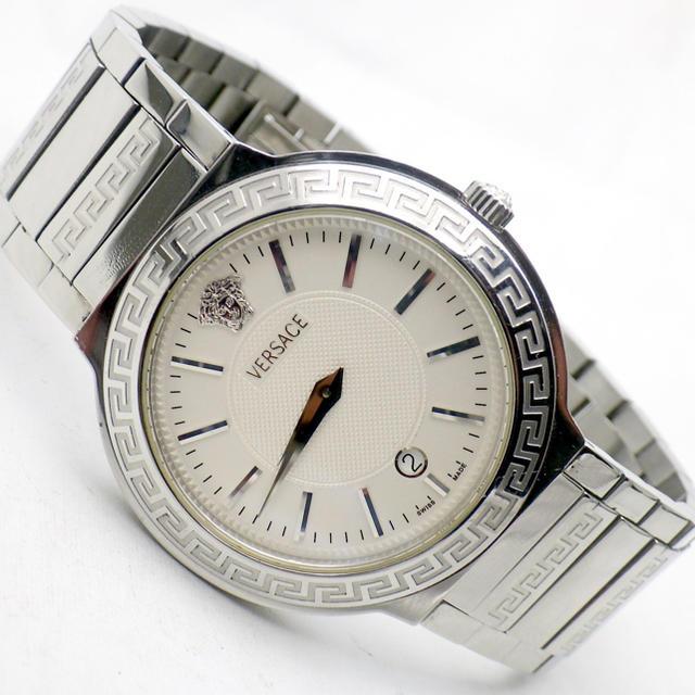 時計 偽物 見分け方 1400 、 VERSACE - 【VERSACE】ヴェルサーチ ランドマーク ZLQ メンズ 腕時計の通販 by キャバリア's shop|ヴェルサーチならラクマ