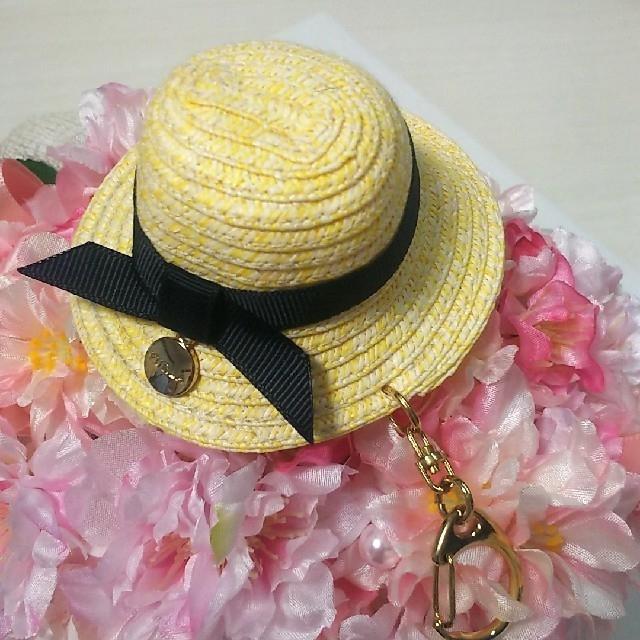 Furla(フルラ)のFurla🖤麦わら帽子チャーム レディースのファッション小物(キーホルダー)の商品写真