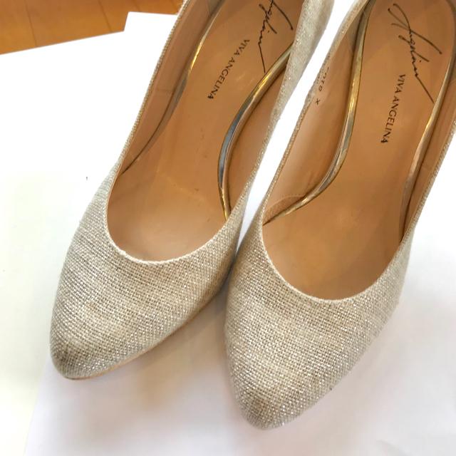 VIVA ANGELINA(ビバアンジェリーナ)のパーティ用  パンプス レディースの靴/シューズ(ハイヒール/パンプス)の商品写真