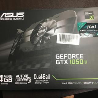 エイスース(ASUS)のgtx1050ti りあ様(PCパーツ)