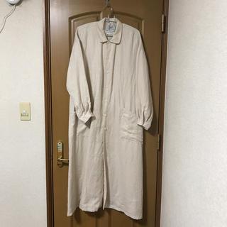 ヤエカ(YAECA)のyaeca write ワークシャツドレス未使用品ヤエカライトM(ロングコート)
