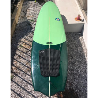 パタゴニア(patagonia)の【手渡し限定】tssc fatbat サーフボード ファットバット6.6ft(サーフィン)