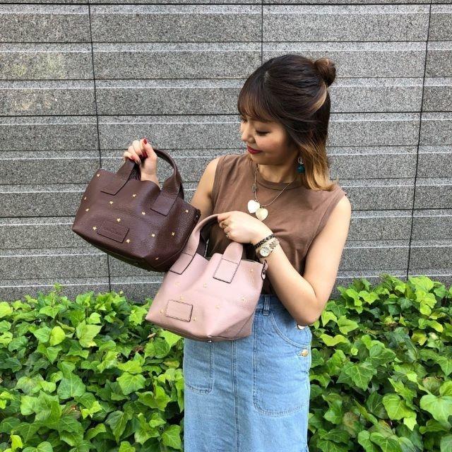 PAPILLONNER(パピヨネ)のNur mini star トート レディースのバッグ(トートバッグ)の商品写真