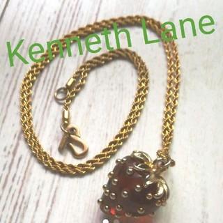 Kenneth Jay Lane - イチゴのネックレス Kenneth Jay Lane