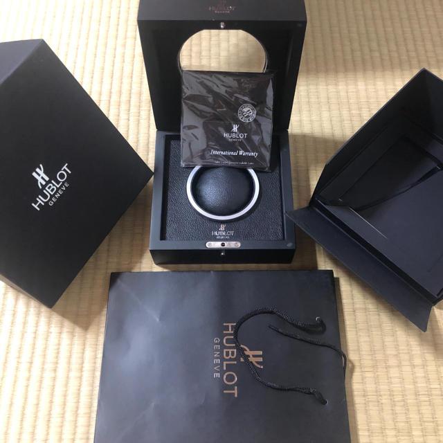 burugari / HUBLOT - 箱類フルセット 確認用の通販 by Ganapati Luxury|ウブロならラクマ