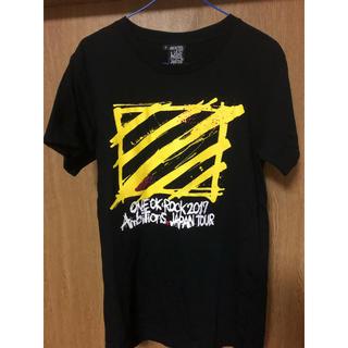 ワンオクロック(ONE OK ROCK)のONE OK ROCK ライブTシャツ&リストバンド(Tシャツ(半袖/袖なし))