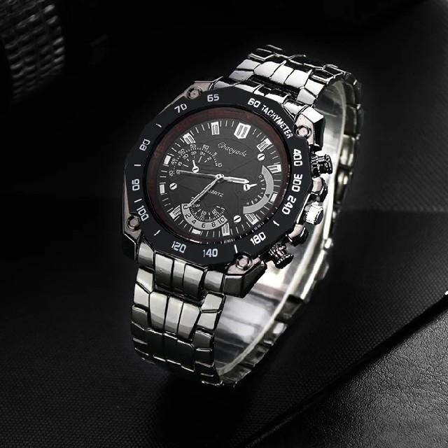 再入荷!【高級 ステンレス】 ビジネス メンズ 腕時計男 新品 黒 の通販 by ギンちゃんハウス♭°|ラクマ