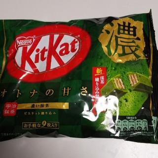 ネスレ(Nestle)のキットカットミニ 濃い抹茶(菓子/デザート)