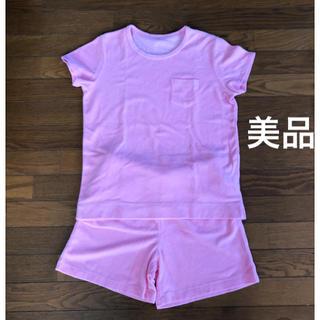 ジーユー(GU)の【美品】GU ジーユー ルームウェア パジャマ ピンク Mサイズ(パジャマ)