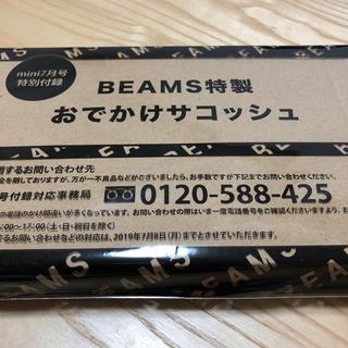 ビームス(BEAMS)のmini7月号付録(ファッション)