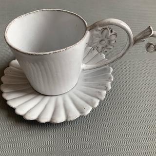 アッシュペーフランス(H.P.FRANCE)の未使用 アスティエ ド ヴィラット  食器 カップ ソーサー傷あり(食器)