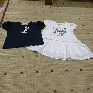 シマムラ(しまむら)のバースデイ Tシャツ ワンピース 2点セット 90cm(Tシャツ/カットソー)