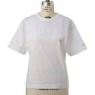 ドゥロワー(Drawer)のドゥロワー 完売 フロッキープリントプルオーバー 新品(Tシャツ(半袖/袖なし))