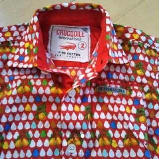 クロコダイル(Crocodile)の値下げ!送料込み CROCODILE カラフルシャツ(Tシャツ/カットソー)