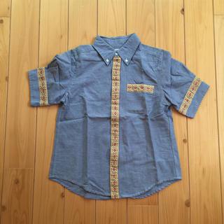 ビームスボーイ(BEAMS BOY)の美品 デニムシャツ(シャツ/ブラウス(半袖/袖なし))