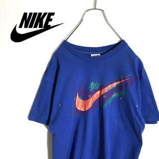 995bf34cdd61a ナイキ(NIKE)のNIKE ナイキ 半袖 Tシャツ ビッグロゴ 90s アメリカ製 ヴィンテージ(