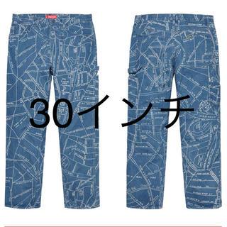 シュプリーム(Supreme)のsupreme Gonz Map Denim Painter Pant (デニム/ジーンズ)