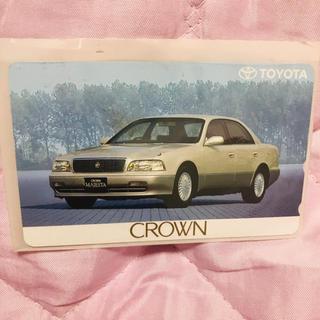 トヨタ(トヨタ)のクラウンマジェスタのテレフォンカード 非売品(その他)