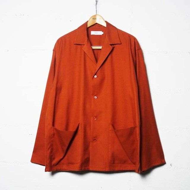 COMOLI(コモリ)の【新品未使用】Graphpaper  Silk Flannel Jacket メンズのジャケット/アウター(ブルゾン)の商品写真
