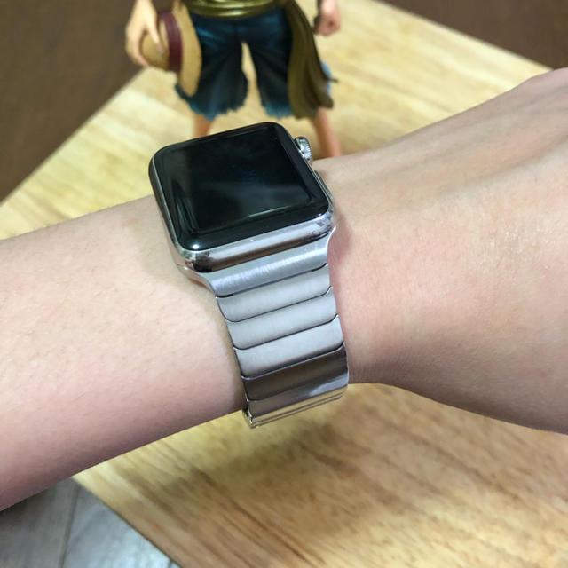 Apple Watch - Apple Watch 純正 リンクブレスレット38/40mmの通販 by hachiアップル純正 shop|アップルウォッチならラクマ