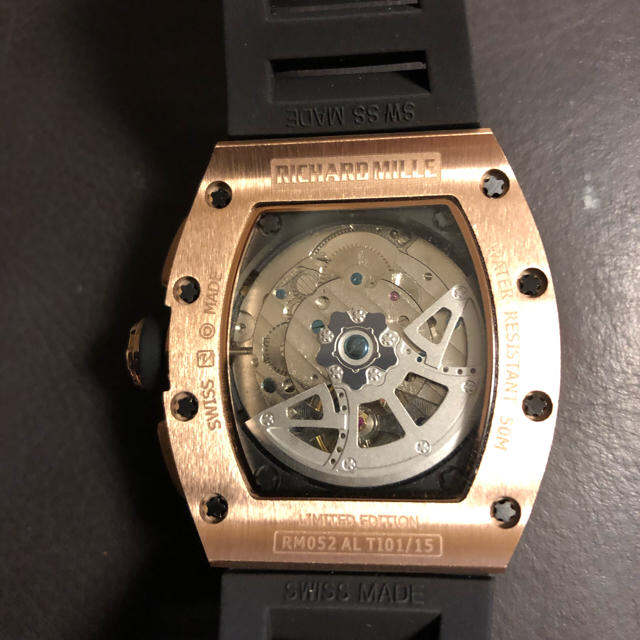 ジーショック 時計 激安メンズ / リシャールミル 自動巻 新品 未使用の通販 by ひろ's shop|ラクマ