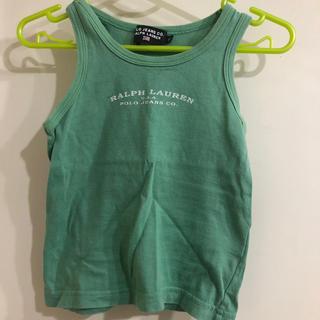 ポロラルフローレン(POLO RALPH LAUREN)のポロ ラルフローレン ランニングシャツ 80(タンクトップ/キャミソール)
