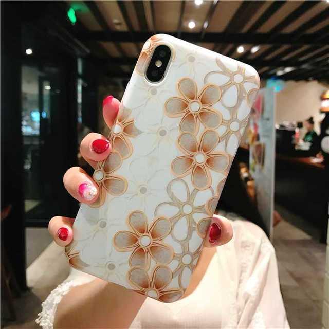 フラワー iPhoneXR ソフトケース 花柄 TPU カバー ケースの通販 by トシ's shop|ラクマ