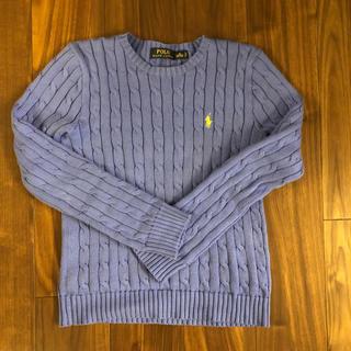 ラルフローレン(Ralph Lauren)のラルフローレン美品ニット❥M❥blue(ニット/セーター)