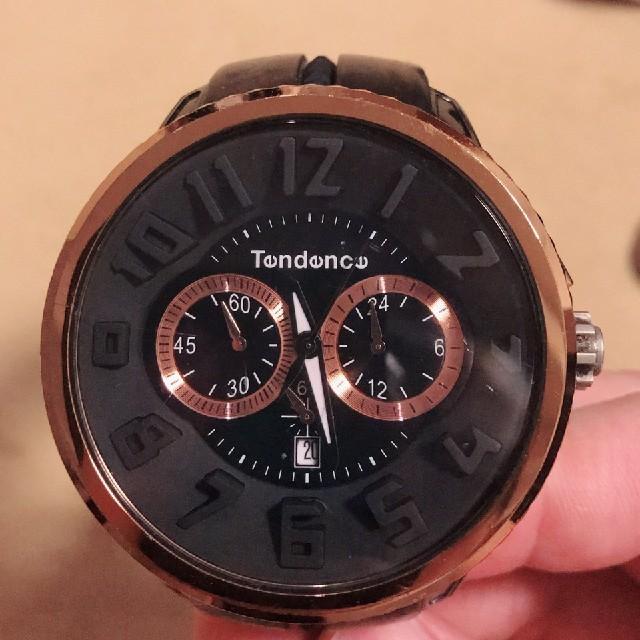 Tendence - テンデンス 時計 黒の通販 by cocotan's shop|テンデンスならラクマ