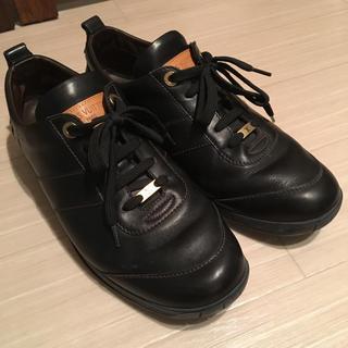 ルイヴィトン(LOUIS VUITTON)のルイ ヴィトン スニーカー ドライビング シューズ 革靴 26㎝ 71/2(ドレス/ビジネス)