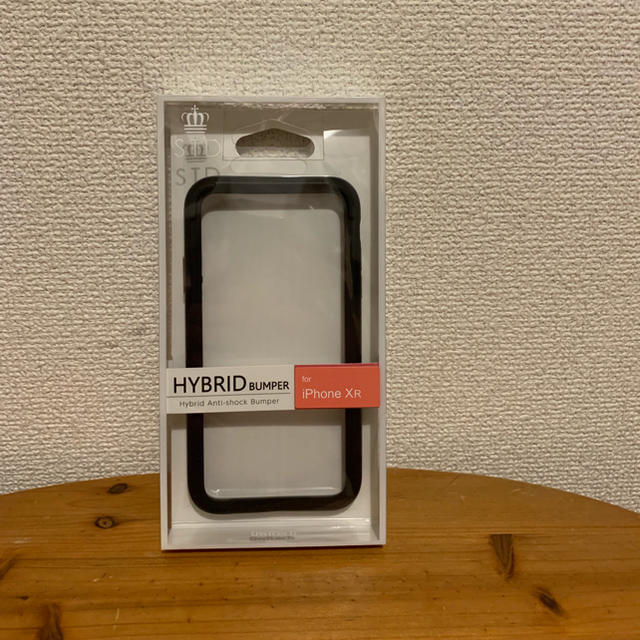 I phone XR バンパーケース 黒の通販 by tsu's shop|ラクマ