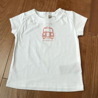 バーバリー(BURBERRY)の美品 バーバリー  Tシャツ 18M 81cm 80 85 12M(Tシャツ)