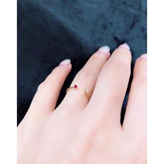 ルビー ダイヤモンド リング(リング(指輪))