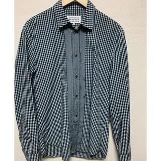 マルタンマルジェラ(Maison Martin Margiela)のMartin Margiela 17SS ギンガムチェックシャツ(シャツ)