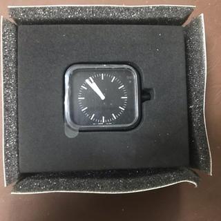 ムジルシリョウヒン(MUJI (無印良品))の無印良品 シリコンウォッチ 黒 文字盤 本体 定価3980円 腕時計 時計(腕時計)
