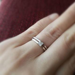 ヴァンドームアオヤマ(Vendome Aoyama)のヴァンドーム青山 VENDOME AOYAMA ダイヤモンドリング 5号 k18(リング(指輪))