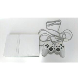 プレイステーション2(PlayStation2)の【付属品全て有】PlayStation2  SCPH-75000CW ホワイト(家庭用ゲーム本体)